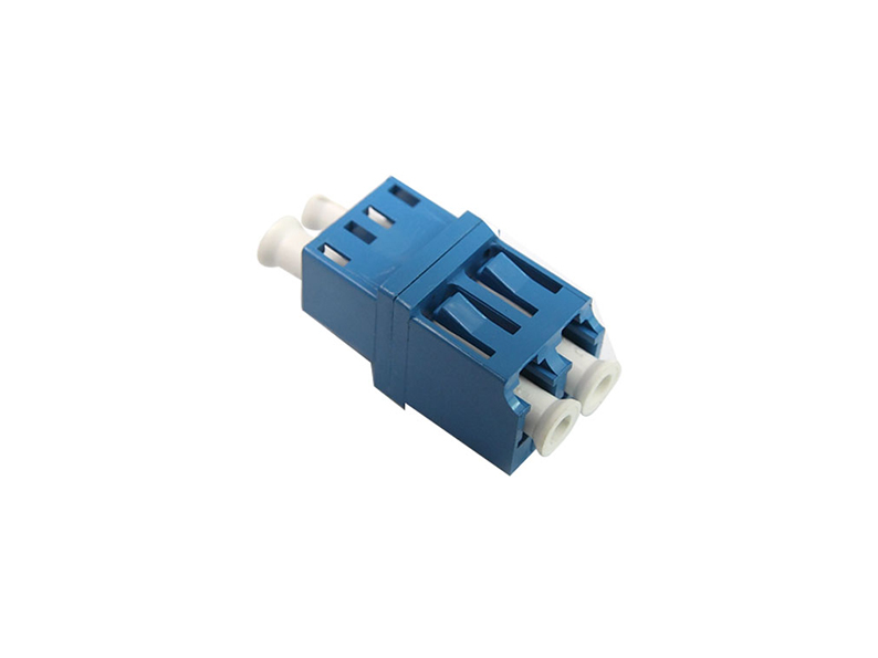 Fiber Optic Adaptor LC/UPC Single mode Duplex